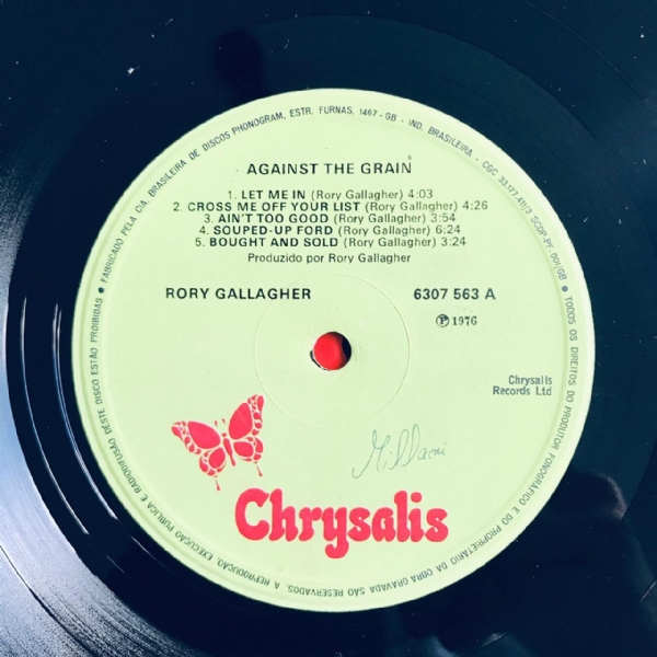 Disco De Vinil Usado - Rory Gallagher - Against The Grain Lp IMG-1810601