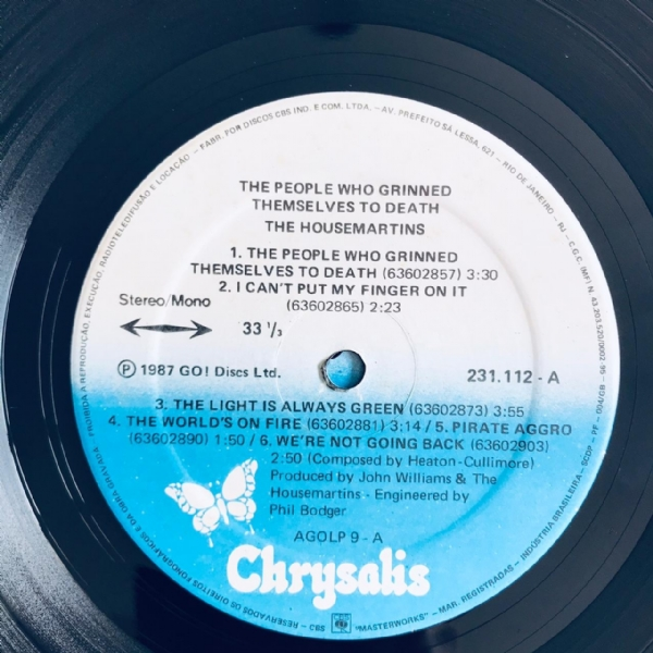 Disco De Vinil Usado - The Housemartins - The People Who Grinned Themselves To Death Lp IMG-1816230