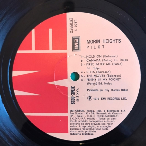 Disco De Vinil Usado - Pilot - Morin Heights Lp IMG-1832554