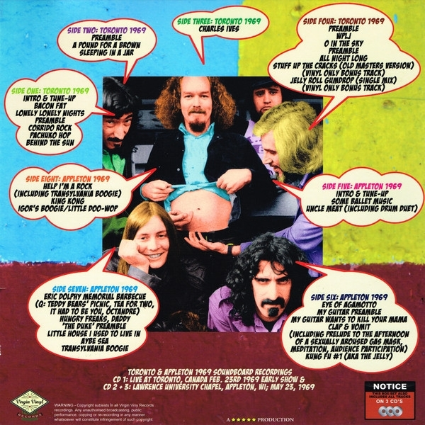 Disco De Vinil Novo -  Frank Zappa & The Mothers Of Invention - Freaking Out In 1969! 04 LP 03 CD Box Set IMG-1840429