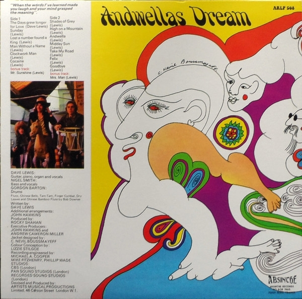 Disco De Vinil Novo - Andwellas Dream - Love And Poetry Lp 180 g IMG-1842329
