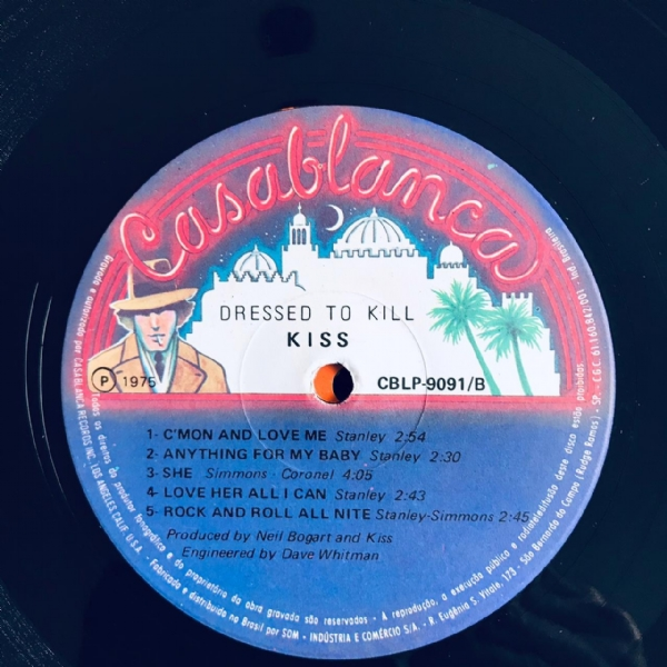 Disco De Vinil Usado - Kiss - Dressed To Kill Lp IMG-1855862