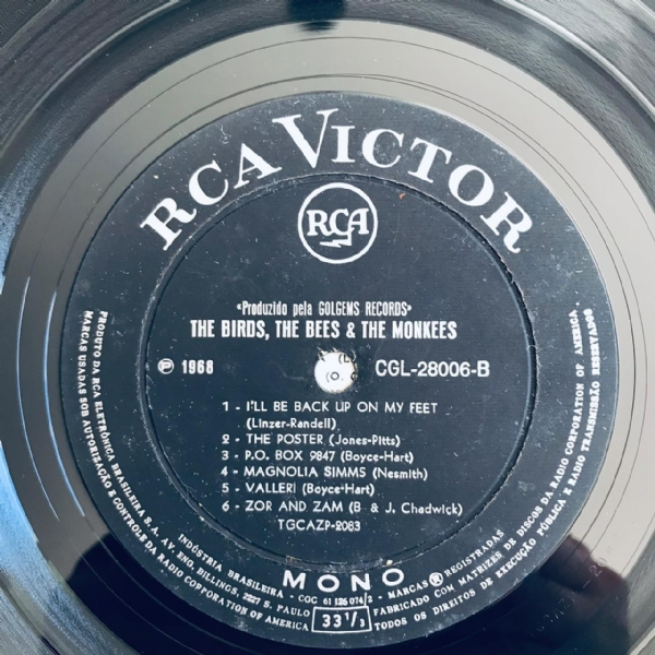 Disco de vinil usado - The Monkees - The birds, The Bees & The Monkees Lp IMG-1873980
