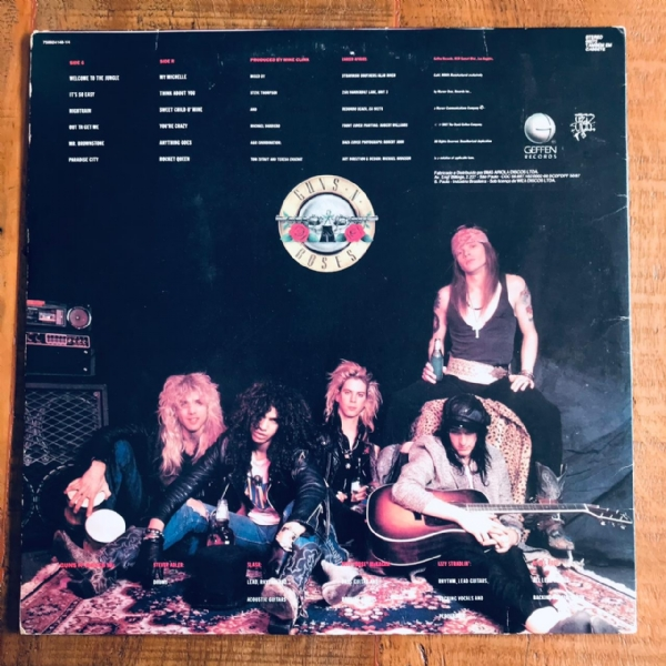 Disco de vinil usado - Guns N´ Roses - Appetite For Destruction Lp IMG-1912469