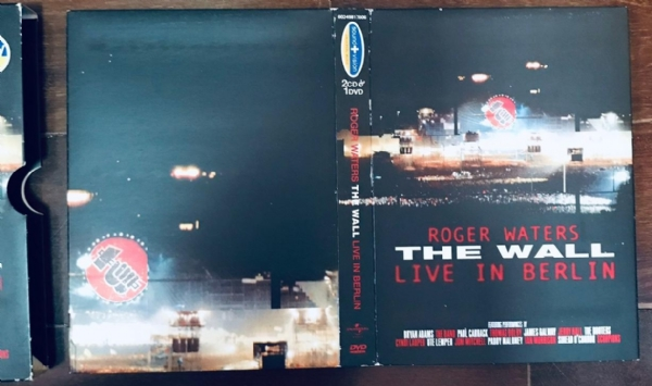 DVD - Roger Waters - The Wall Live In Berlin 02 CD 01 DVD Box Set IMG-1916080