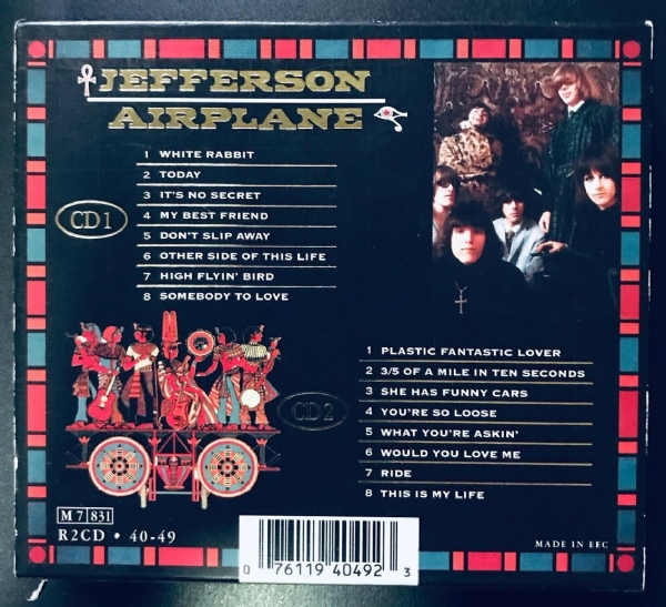 CD usado - Jefferson Airplane - The Gold Collection CD Duplo IMG-1916803