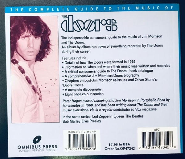 Livro - The Doors - The Complete Guide To The Music Of IMG-1916858