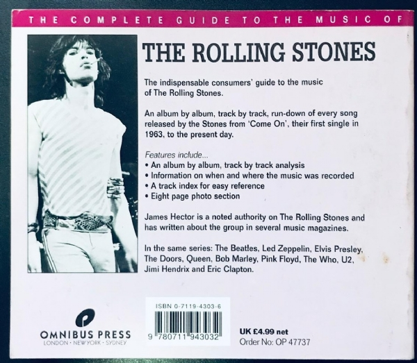 Livro - The Rolling Stones - The Complete Guide To The Music Of IMG-1916845