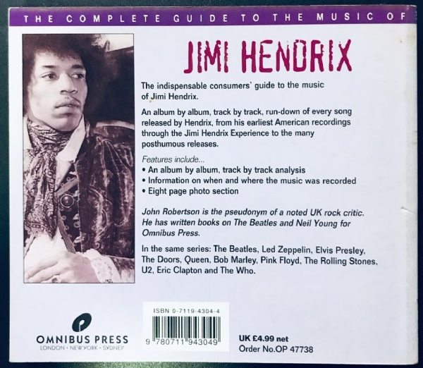 Livro - Jimi Hendrix - The Complete Guide To The Music Of IMG-1916865