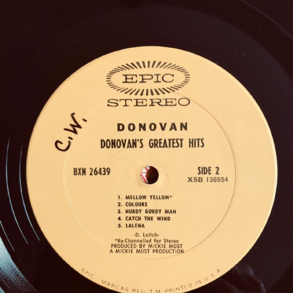 Disco de vinil usado - Donovan - Greatest Hits Lp IMG-1918696