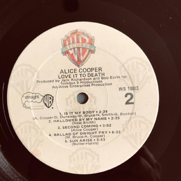 Disco de vinil usado - Alice Cooper - Love It To Death Lp IMG-1918797