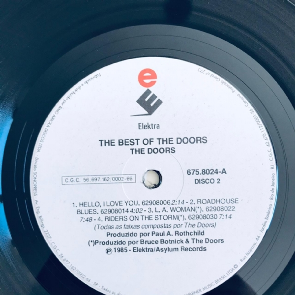 Disco De Vinil Usado - The Doors - The Best Of Lp Duplo IMG-1967303