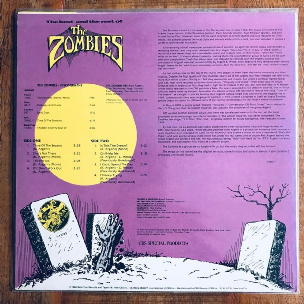 Disco De Vinil Usado - The Zombies - The Best And The Rest Of Lp IMG-1980796