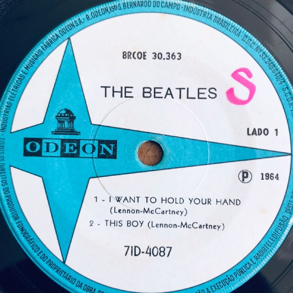 Single De Vinil Usado - The Beatles - I Want To Hold Your Hand EP IMG-2107964