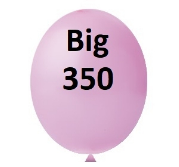 BALÃO BIG 350 ROSA HAPPY DAY 1 UN