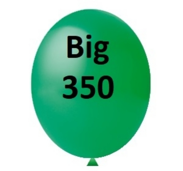 BALÃO BIG 350 VERDE HAPPY DAY 1 UN