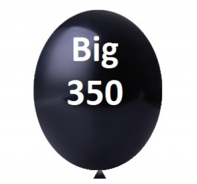 BALÃO 350 BIG PRETO HAPPY DAY C/1