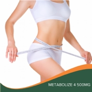 Metabolize 4 500mg - 60 unds